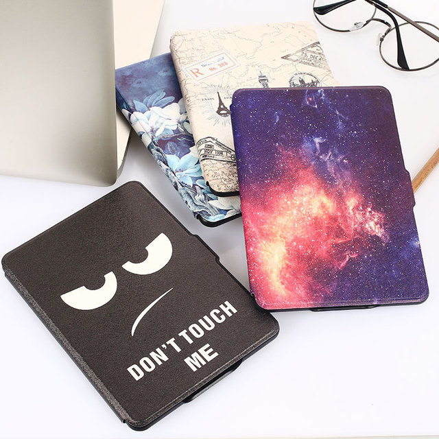 PU+PC Tablet Case E-Book Cover Protective Case Magnetic Slim for Kindle Paperwhite1/2/3/958/899 Leather Case