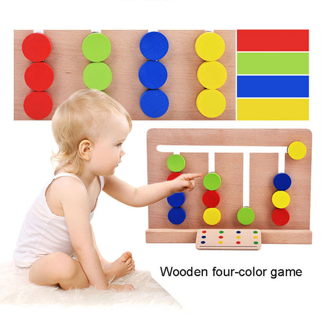 3d Puzzle Wooden Toys Multicolor Practical Wooden Educational Toys Safe Material Novelty Funny Desktop Puzzle toys Game
