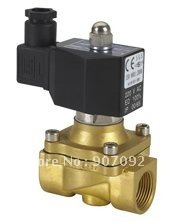 Free Shipping High Quality IP67 Square Coil Water Solenoid Valve 3/4'' Ports NC 2W200-20-D 5Pcs In Lot