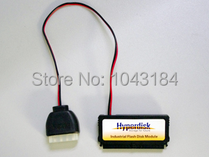 Hyperdisk 40 pin IDE 4GB MLC vertical DOM/SSD/disk on module for industrial or enterprises PC internal hard drive