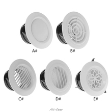 Air Vent Extract Valve Grille Round Diffuser Ducting Ventilation Cover 100mm Air Vent Ventilator new