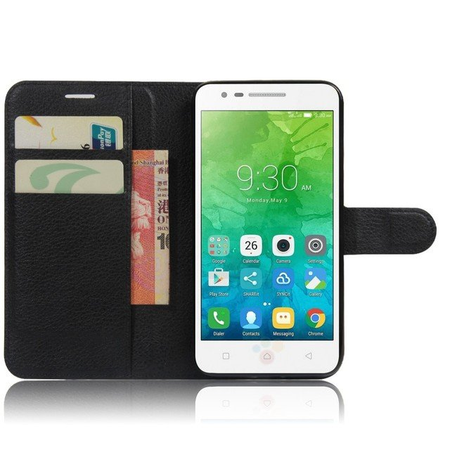 For Lenovo Vibe C2 K10a40 Phone Case Luxury Coque Fundas Stand Wallet Leather Flip Cover Bags Skin protection Cases
