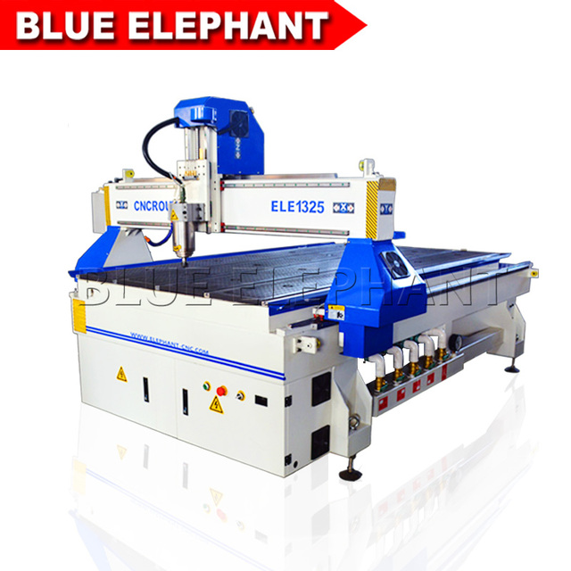 3d cnc router 1325 machine furniture wood working machine water cooled spindle 3kw factory price