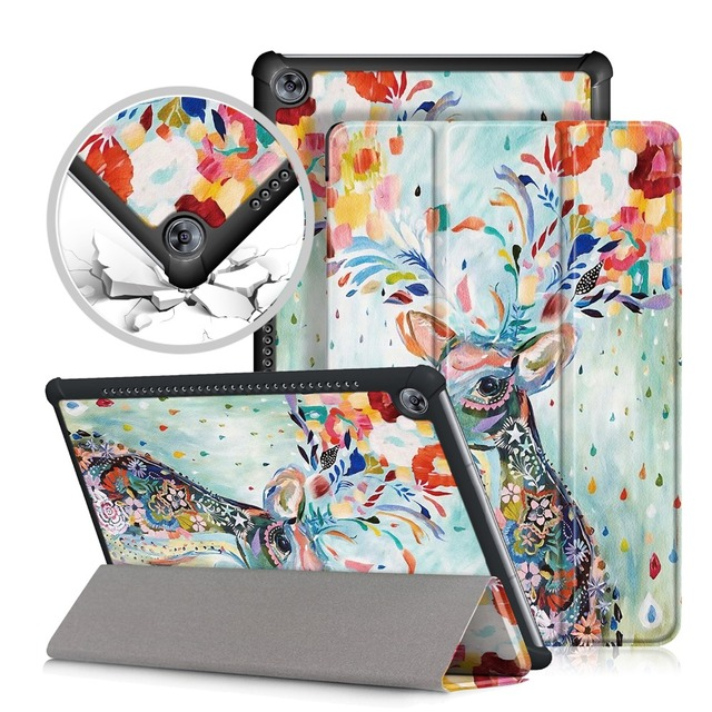 """PU Leather Case cover For Huawei MediaPad M5 10 pro Tablet PC Protective Case For Huawei MediaPad M5 10.8"""" CRM-AL09 CRM-W09"""