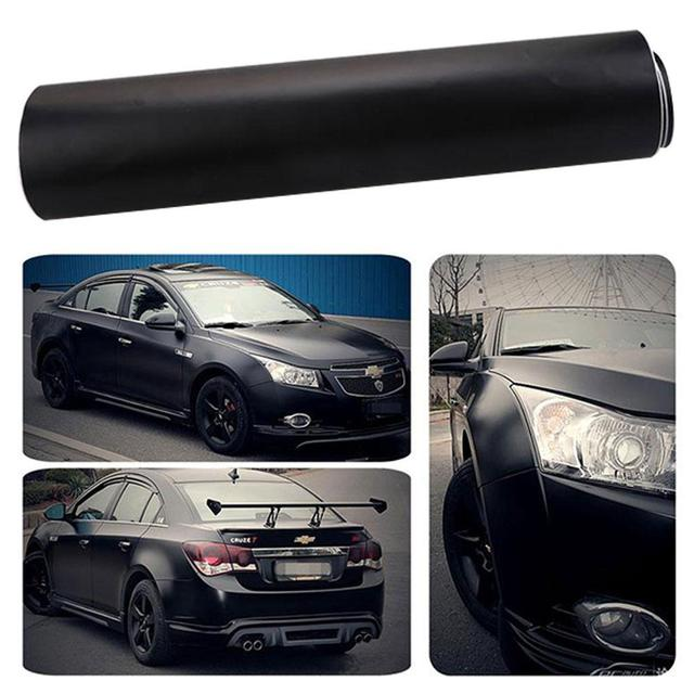 Vehemo for Car Body Matter Black Wrapping Car Sticker Automobile Decoration Decal Premium Quality Motorcycle Body Film