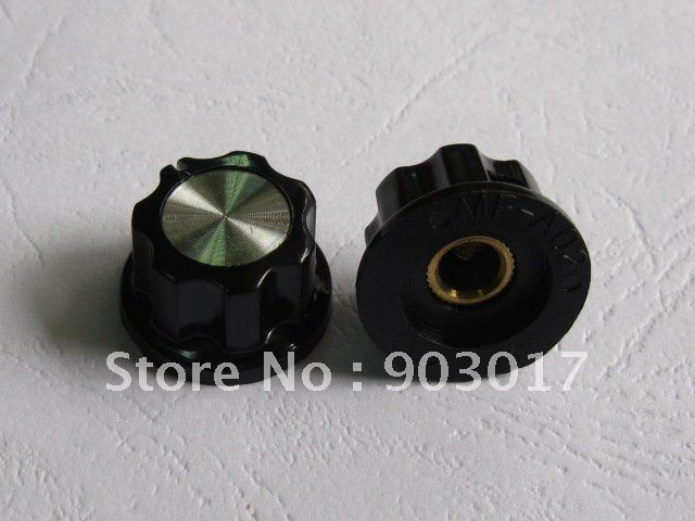 50 pcs per lot Skirted Knob A02  For Standard Pots Black 23 D 14 H  hot sale high quality