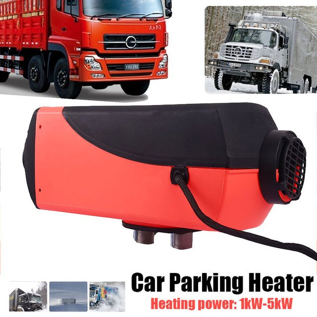 Diesel 10L Tank Air Heater Boat Car Oil-Fired Heater Vehicle Heater Quiet Trailer Thermostat 12V 5000W