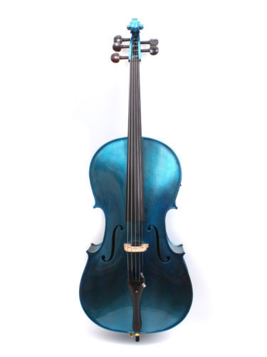 Yinfente Electric Cello 4/4 5 string Acoustic Cello Professional Sound Maple Spruce ebony Fittings #EC1