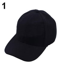 Women Men Casual s Baseball Cap Solid Color Blank Visor Hat Snapback Cap