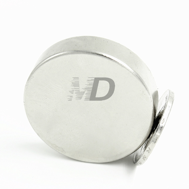 5pcs Neodymium N35 Dia 40mm X 10mm  Strong Magnets Tiny Disc NdFeB Rare Earth For Crafts Models Fridge Sticking magnet 40x10mm