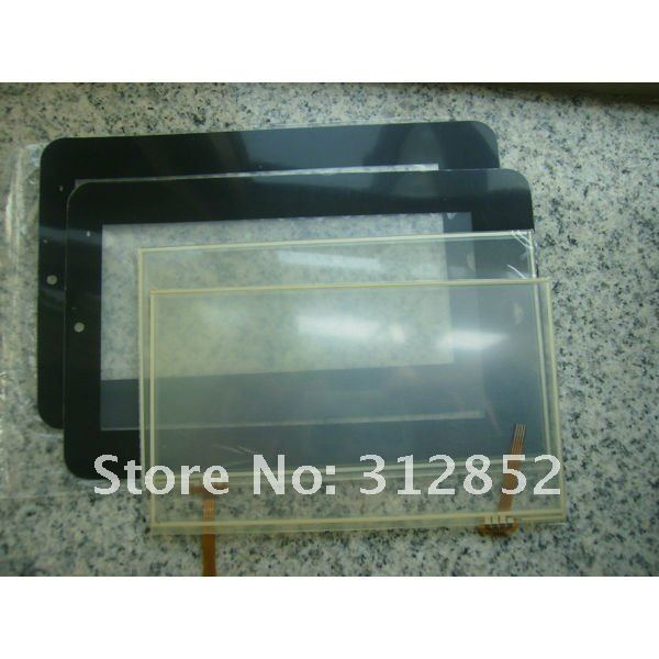 Replacement touch screen for 7inch via8650 android2.2 Tablet PC MID
