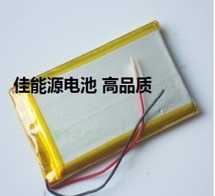 3.7V lithium polymer battery 305089 1800MAH mobile power GPS navigator game machine Rechargeable Li-ion Cell