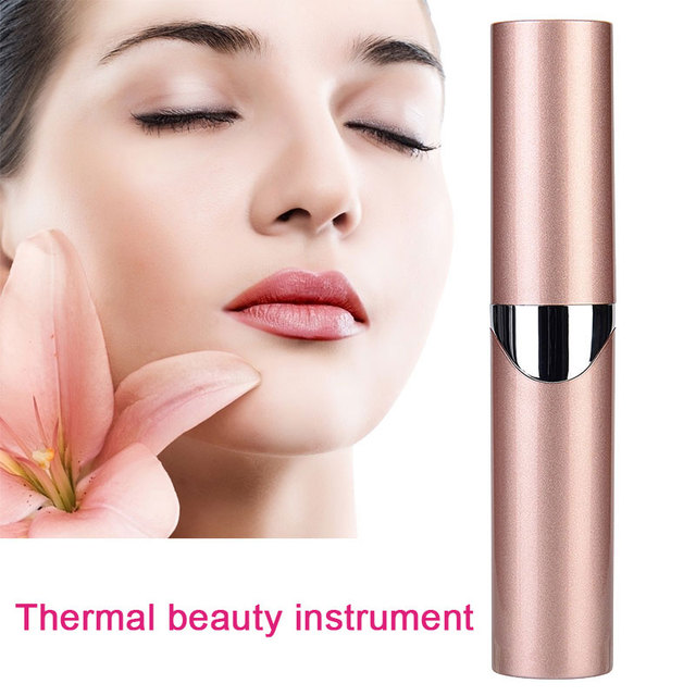 Thermal Mini Eyes Massage Microcurrent Wrinkle Dark Circles Puffiness Removal Fatigue Skin Lifting Health Care Beauty Relaxation