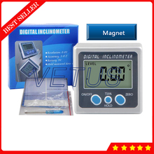 4*90 Degree Digital Protractor Angle Level Box 5339-90 With Magnet In Three Surfaces Inclinometer Electronic Angle Meter