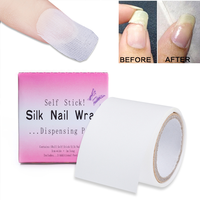 2018 New Silk Nail Protector Roll Nail Art Sticker Care Stickers Film Nail Products