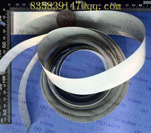 FFC cable 1.0 pitch-6pin-1000mm-B  opposite  direction flexible flat cable ROHS customization is available
