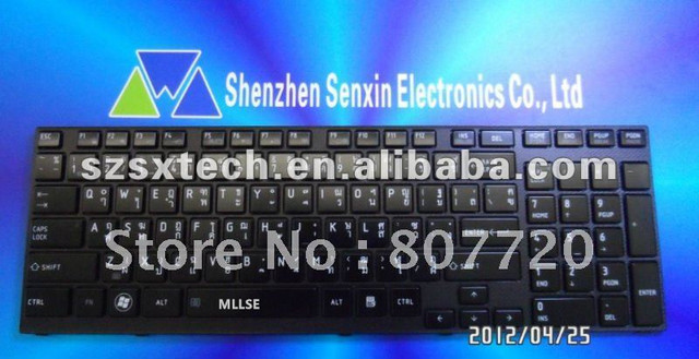 New FOR Toshiba Satellite S55-A S55t-A S55D-A Keyboard Spanish Teclado Backlit
