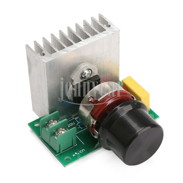 3800W SCR Controller Voltage Regulator Dimming Speed Module for electric furnace/water heater/lighting/motor/electric iron etc