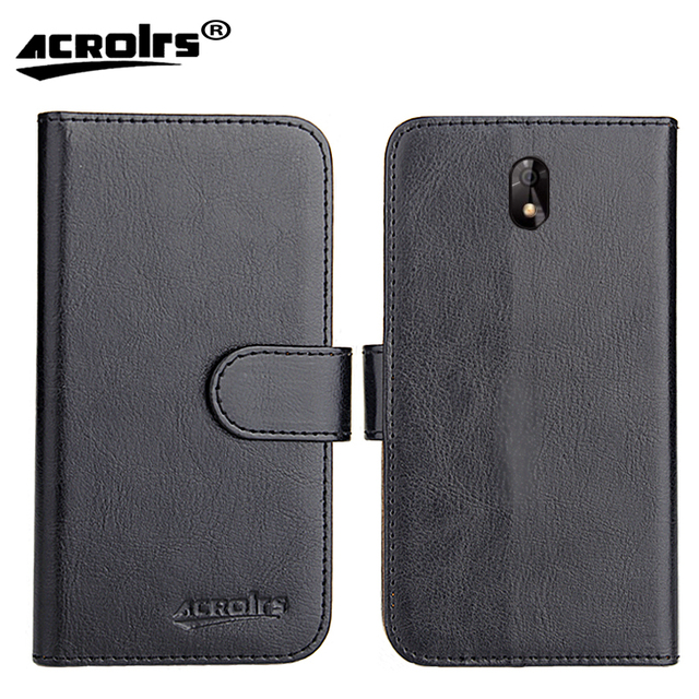 Digma LINX Trix 4G Case 6 Colors Dedicated Leather Exclusive Special Crazy Horse Phone Cover Cases Card Wallet+Tracking