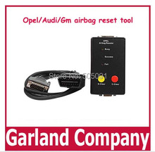 Free shipping airbag reseter for opel/audi/gm airbag reset tool OBDII car airbag reset tool erase airbag fault memory