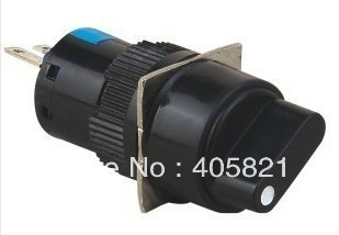Rotary selector switch 2 position 16MM 3Pins