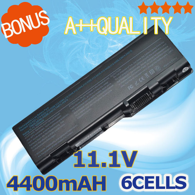 4400mAh Battery 310-6321 312-0340 312-0348 D5318 F5635 for Dell Inspiron 6000 9200 9300 9400 E1705 M170 Precision M6300 M90