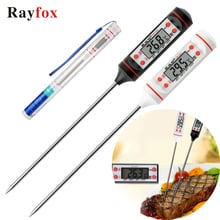 Kitchen Accessories Gadgets Digital Thermometer Sensor Probe for Meat Water Milk BBQ Cooking Tools Kitchen Supplies Tools Goods.