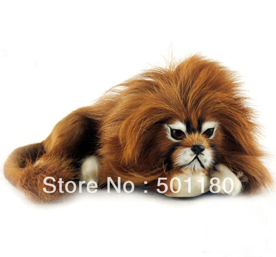 free shipping lion toy artificial lion gift decoration mini lion artificial crafts animal lion figurine handmade furry animal