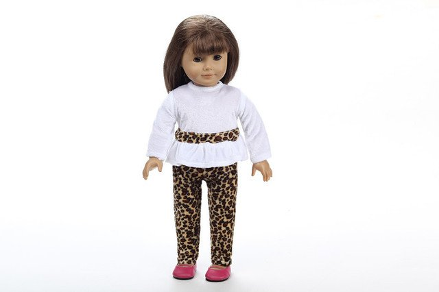 Best gift for children,High quality popular 18 Inch  Doll clothes(only sell clothes)b218
