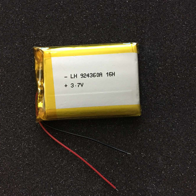 New Hot 3.7V polymer rechargeable lithium battery 904060 094060 BAK 904360 3000MAH Rechargeable Li-ion Cell