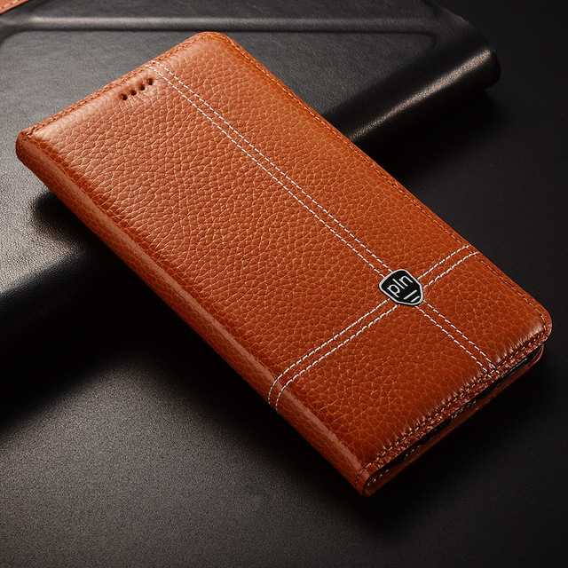 For Huawei Honor Note10 Note 10 Case Flip Stand Genuine Leather Mobile Phone Cover For Huawei Honor 10