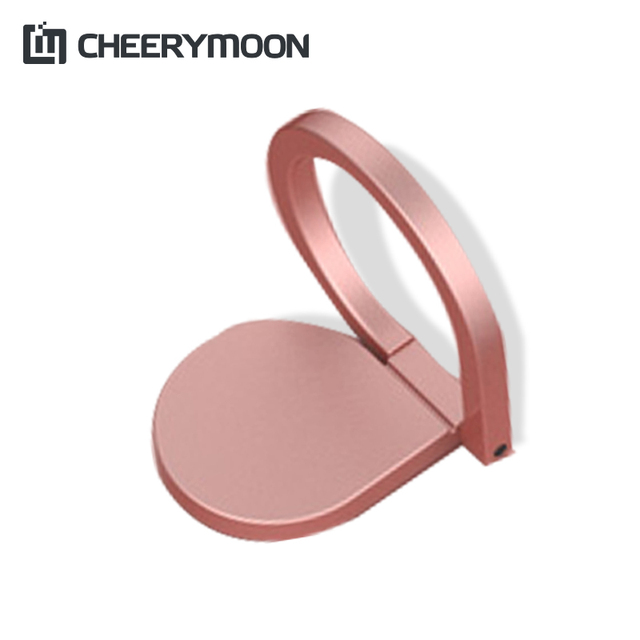 CHEERYMOON Water Droplets Holder Universal Mobile Phone Ring 360 Rotary Magnetic Metal Finger Grip Stand For iPhone 8 X