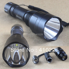 highly recommend! Good Quality  C8 Cree XM-L T6 1600 LM 5 Modes Memory Led Flashlight Free Shiping