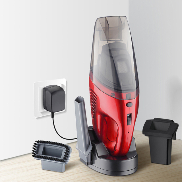 Dry and wet car wireless handheld vacuum cleaner home charging portable vacuum cleaner car gifts