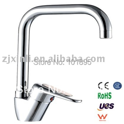 X8505K6 - Luxury Deck Mounted Chrome Color Brass Material Sink Faucet