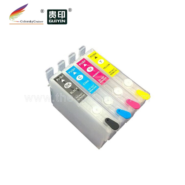 (RCE-IC4CL31) refillable refill ink cartridge for Epson IC4CL31 ICBK31 PX-A550 PX-V500 PX-V600 PX A550 V500 V600 KCMY