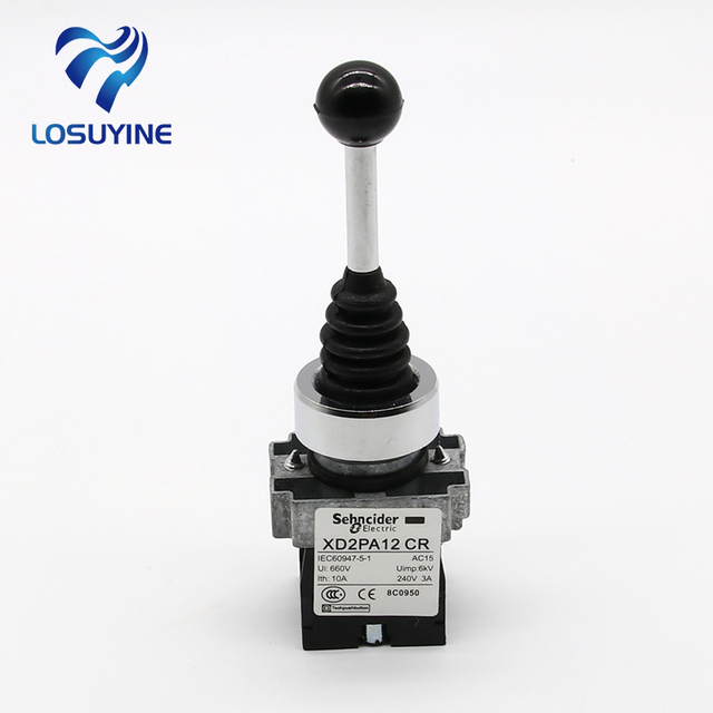 XD2-PA22 joystick controller XD2PA22CR,spring return joystick switch XD2-PA22CR Rotary Switches