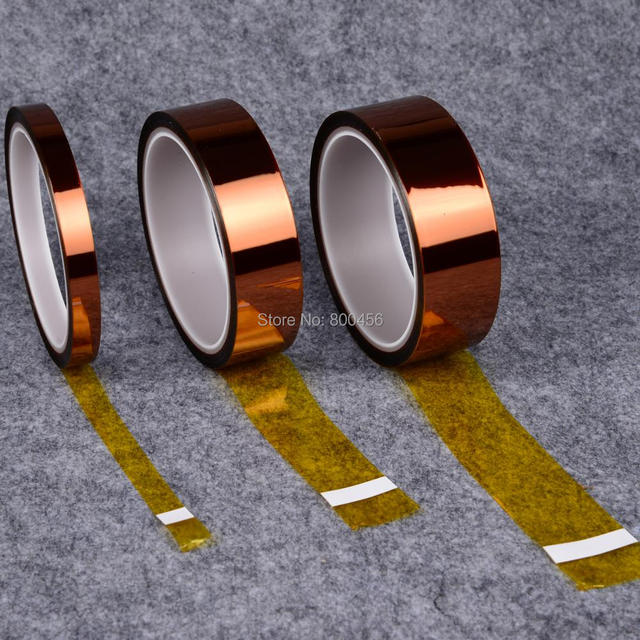 Polyimide Adhesive Tape 20mm x 30m PCB Masking Tape for PCB Electroplating E-A06  Vary Era