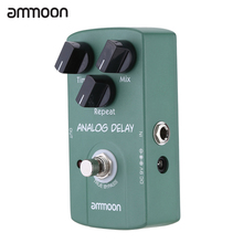 ammoon AP-07 Guitar Pedal Analog Delay Electric Guitar Effect Pedal True Bypass High Quality Guitar Parts & Accessories