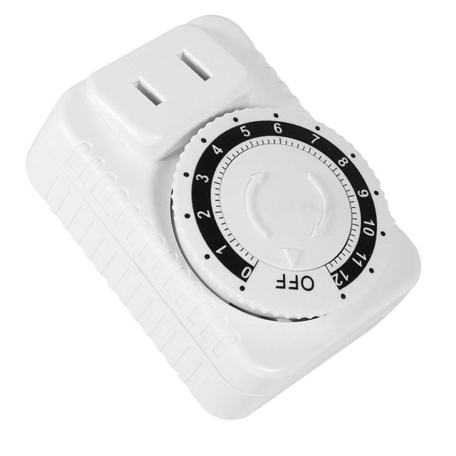 Programmable Timer Plug Electrical Time Socket Multi-Function 10A 12 Hours Kitchen Timer Outlet Switch Relay Switch