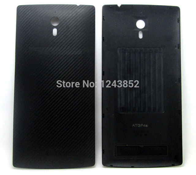 New replacement battery door housing cover cases black for Oppo Find7 Find 7 X9007