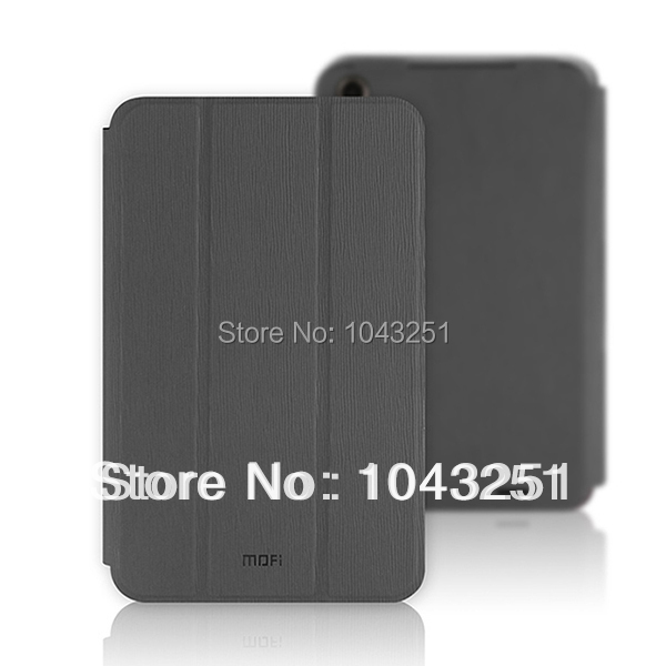 Free Shipping Original  Mofi Colorful High Quality 7 inch  Android Tablet PC Leather Case for Lenovo A3000 Grey