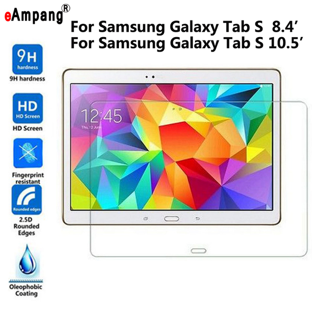 Tempered Glass for Samsung Galaxy Tab S 8.4 T700 T705 10.5 T800 T805 Transparent Screen Protective Film Tablet Screen Protector