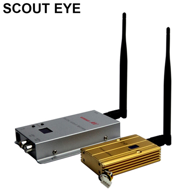 SCOUT EYE QLM-1215-1500X 1.2GHz 15 channels long range transmission distance wireless video transmitter and receiver