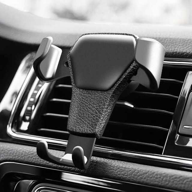 For samsung Galaxy S8 S9 Car Phone Holder In Car Air Vent Mount Stand No Magnetic Mobile Phone Holder Universal Gravity Support