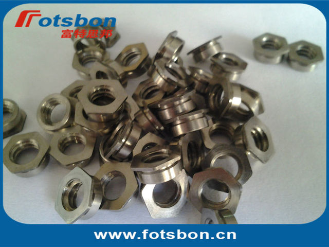 F-M2.5-2, Flush nuts, PEM standard , made in china, SUS303,  in stock.