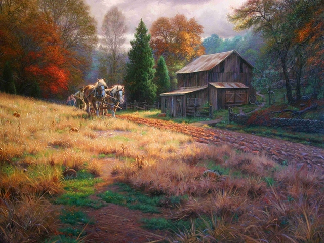 Canvas painting new 1 piece Mark Keathley Legacy Art autumn .HD Canvas Print Home decoration for home canvas Art painting\R64
