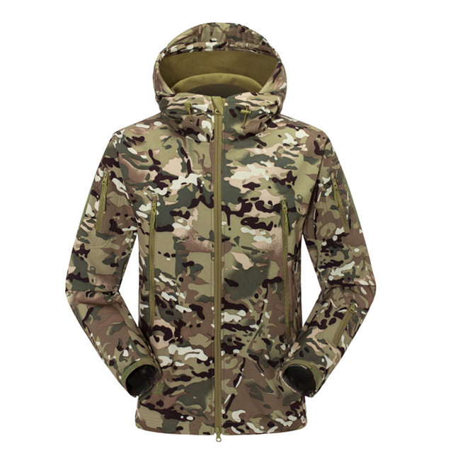 TAD Gear Tactical Softshell Camouflage Outdoors Jacket Men Army Sport Waterproof Hunting hiking camping Clothes Military Jacket