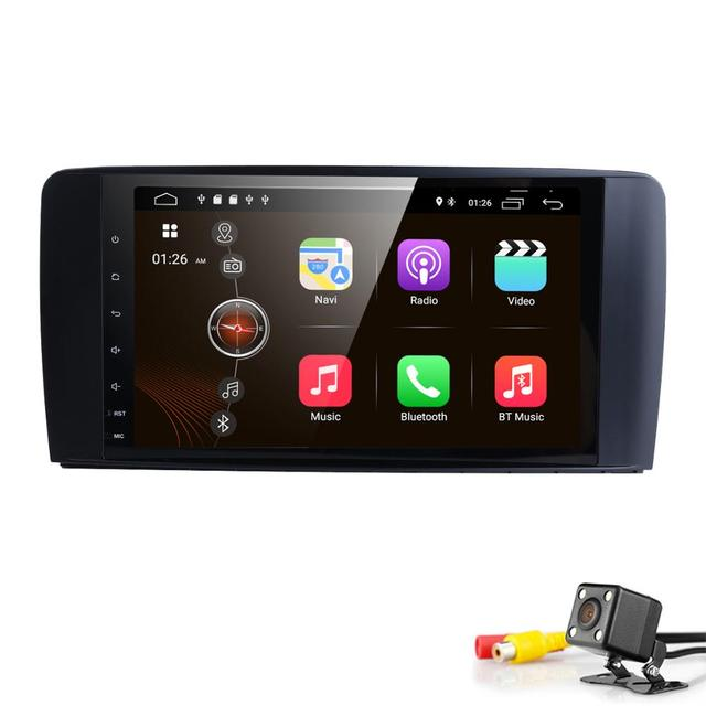 "9 ""2 din autoRadio GPS Android 9.0 Car Multimedia Head unit for Mercedes Benz ML W164 ML350 GL X164 dinli 450 2005 -2012 WIFI 4G"