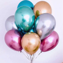 Happy Birthday New Glossy Metal Pearl Latex Balloons Thick Chrome Metallic Colors Inflatable Air Balloons Party Decoration Buy Cheap In An Online Store With Delivery Price Comparison Specifications Photos And Customer